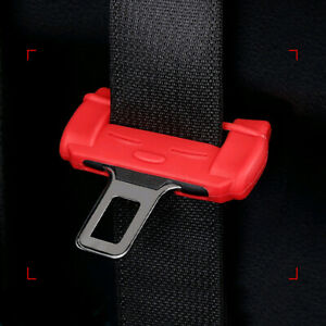 1x Car Seat Belt Buckle Silicone Cover Anti scratch Protector Cover Accessories