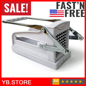 Potato French Fry Fruit Vegetable Cutter Slicer Commercial Quality 2 Blades Us