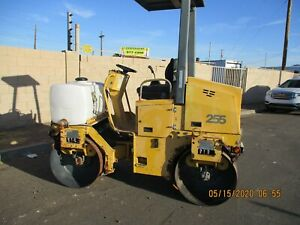 04 Vibromax 255 Vibratory Smooth Drum Roller Compactor 814 Hrs