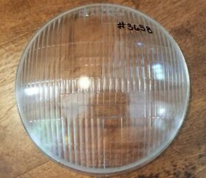Riteway Headlight Lens 3658 1938 Plymouth 1937 Chrysler Desoto Dodge Mopar