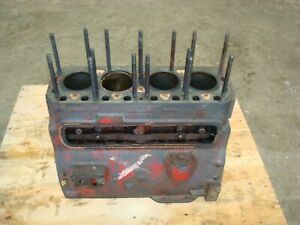 1951 Farmall H Tractor Engine Block