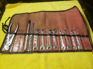 Mac Tools 11 Piece Ignition Wrench Set Mechanic Tools Vintage