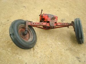 1959 Ford 971 Tractor Wide Front End