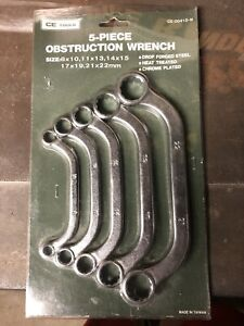 Ce Tools Obstruction Wrench 5pc