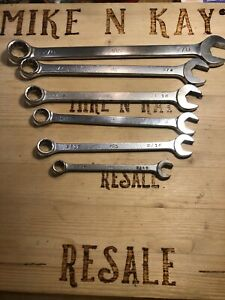 Mac Tools 6 Piece Sae 12 Point Wrench Set