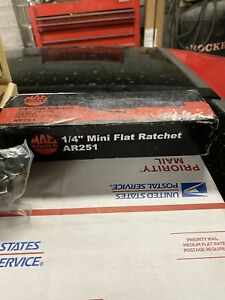 Mac Tools Ar251 1 4 Drive Flat Head Air Ratchet