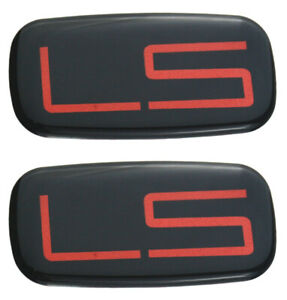 2x New Custom Ls Badge Side Fender Tailgate Emblem Tahoe Suburban Silverado99 07