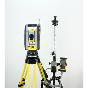Trimble Sps620 5 Robotic Total Station W Nomad Data Collector