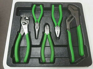 Dp T 7393 Cornwell Tools 5 Pc Cpl303ng Neon Green Pliers Set