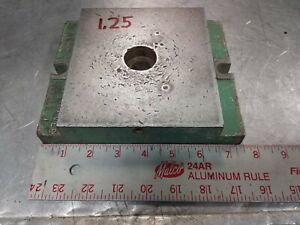 Di acro Die Shoe Roper Whitney Die Holder Punch Press Style A 1 25 Whitney Shoe