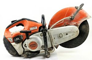 Stihl Ts420 14 Inch Concrete Saw W blade Great