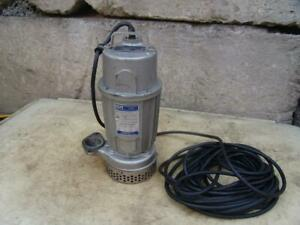 Gorman Rupp Submersible Pump S2c3 2 Pump 1 2 hp 115v