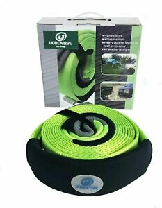 Heavy Duty 3 X 20 Tow Recovery Strap 35 273lb With Protective Loops