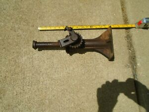 Vintage Steel Auto Screw Car Jack Works Well