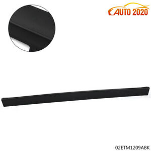 For 2007 2010 Ford Explorer Sport Trac Top Rear Tailgate Moulding Trim Black