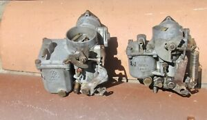 Pair Dual Vw Solex German Made Solex 30 Pict 1 Beetle Ghia Carburetors Bug Carbs