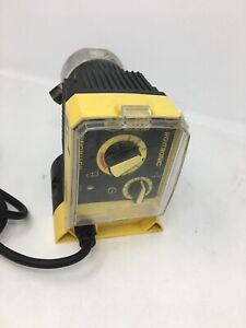 Lmi Electromagnetic Dosing Pump Chemical Feed A141 919si 0 50 Gph 250 Psi