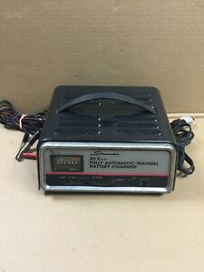 Vintage Schumacher 12v Fully Automatic Manual 10 2 Amp Battery Charger Se 50ma
