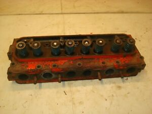 1959 Ford 971 Tractor Cylinder Head 800 900