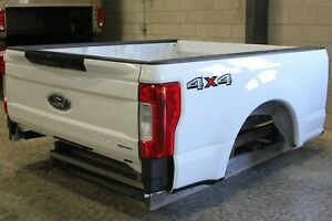 Oem Factory 17 19 Super Duty Short Bed New Take Off Oxford White Truck Box 6 9ft