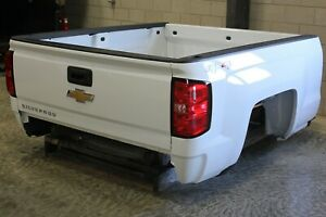 Oem Factory 14 18 Silverado 1500 6 6 Short Bed New Take Off White Truck Box
