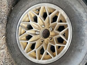 1977 81 Pontiac Trans Am Firebird Snowflake Wheels 15x7 Nice Gm Setof4needclean