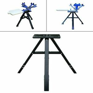 Top grade Stand Table For 4 Color 1 Station Screen Printing Press Enhanced Stand