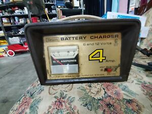 Sears Battery Charger 6 12 Volt Dc 4 Amp 608 71260