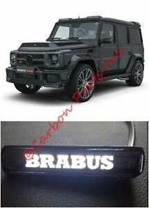 W463 Brabus Style Illuminated Logo Badge On Front Grille Mercedes G class