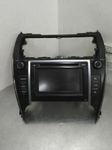 Audio Equipment Radio Display And Receiver Am fm cd Fits 12 Camry 576406