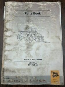 Jcb 532 Le 532le Sway Loadall Owner s Parts Manual 9800 7866 Issue 9