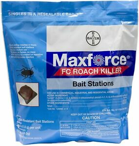 Maxforce Fc Roach Bait Stations Pest Twice The Power Of Advion Roach Killer New