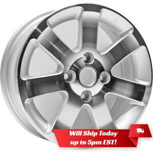 New Set Of 4 16 Alloy Wheels Rims For 2004 2012 Nissan Sentra Machine Silver