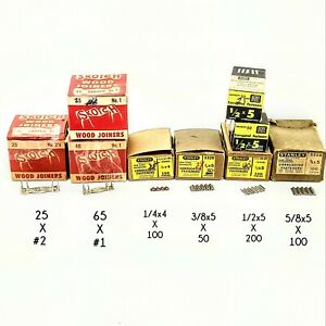 Lot Stanley 3320 Corrugated Fasteners Skotch No 1 2 Wood Joiners Woodworking