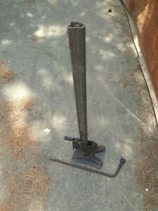 Vintage Bumper Jack With Base Hook Handle wrench