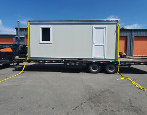 Mobile Construction Office Trailer Prefabricated Modular Tiny House Container