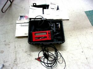 Snap On Scanner Mt2500 cartridges adapters keys cables manuals hard Case