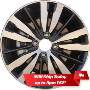 New 16 Machined And Dark Charcoal Alloy Wheel Rim For 2015 2020 Honda Fit