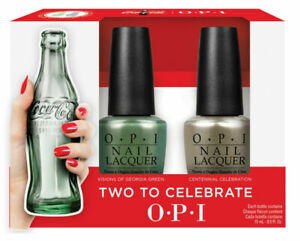 Brand New OPI Coca Cola 100th Anniversary Two to Celebrate Nail Polish Set
