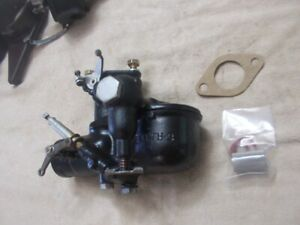 Model A Ford Zenith 3 Carburetor Side Bowl Indented Fire Late 1931 Tested Sb3