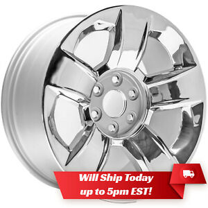 New 20 Chrome Wheel Rim For 2014 2020 Chevrolet Silverado Suburban Tahoe