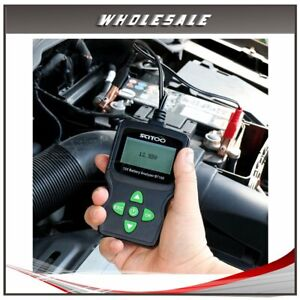 High Perfrmance 6v 18v Lcd Vehicle Digital Battery Test Analyzer Diagnostic Tool