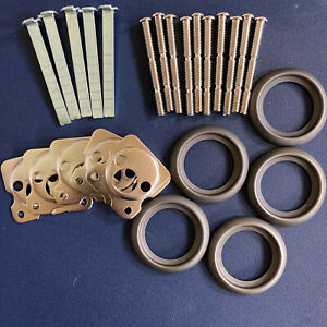 Rim Cylinder Parts Tailpieces Screws Plates Rose Escutcheons Free Tracking