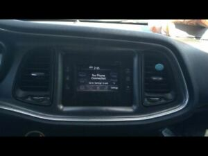 Audio Equipment Radio Receiver And Display Sirius Fits 15 Challenger 661998