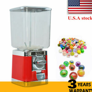 Bulk Candy Gumball Vending Machine Round Automatic Candy Machine Candy Storage