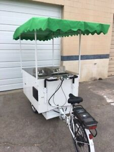 Hot Dog Cart On Trike Frame On Sale Normally 9 000 Now 6 999 two Left