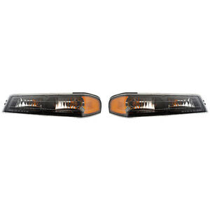 Fits 2004 2012 Chevy Colorado Park Signal Light Pair Side