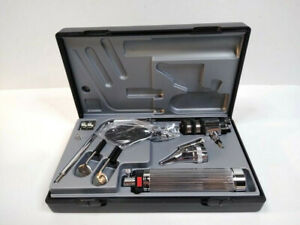 Riester 2050 Econom Diagnostic Set Otoscope Ophthalmoscope Heads Hard Case