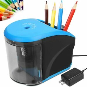 Electric Pencil Sharpener Ac Power Adapter include battery Operated Pencil Sha