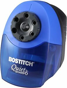 Bostitch Quietsharp 6 Heavy Duty Classroom Electric Pencil Sharpener 6 holes B